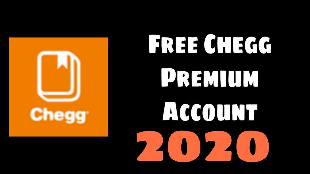 Chegg Accounts
