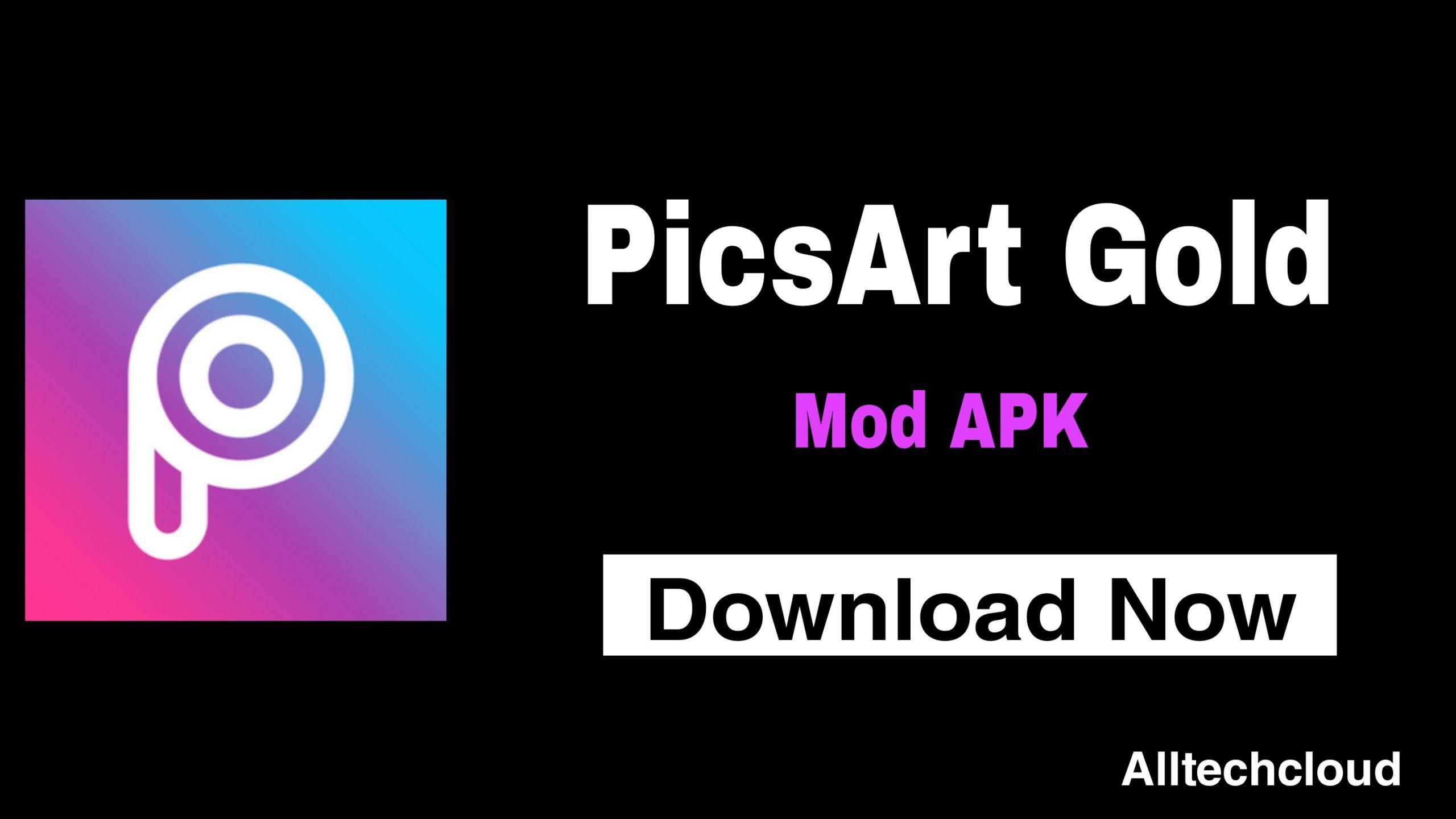 PicsArt MOD APK v17.9.2 Download (Gold/Premium Unlocked)
