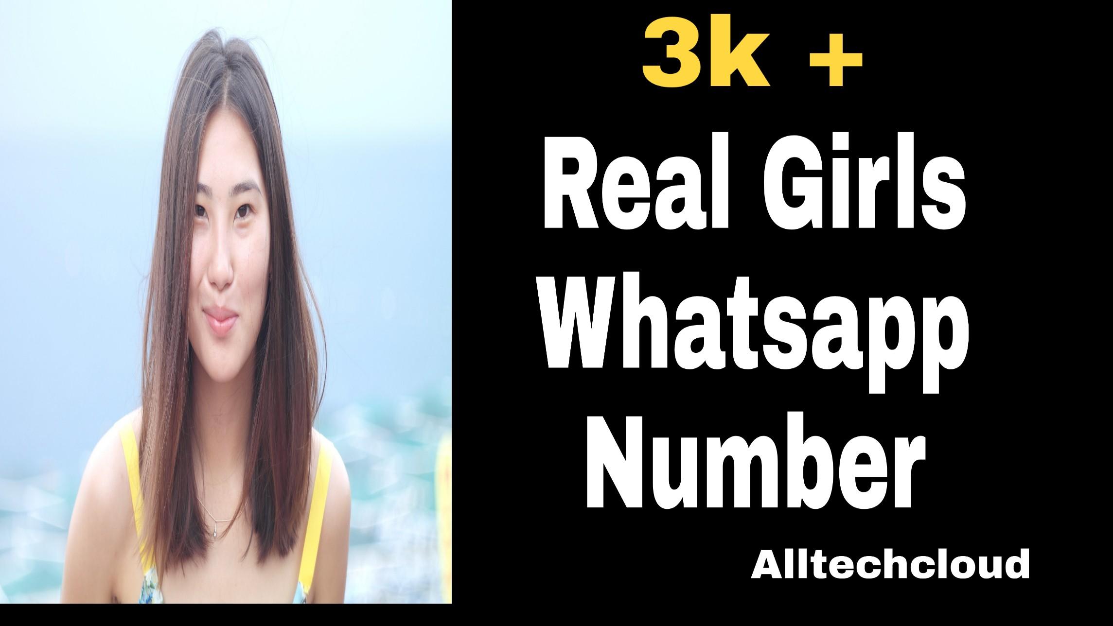 3K+ Girls WhatsApp Numbers List for WhatsApp (100% Working) 2021