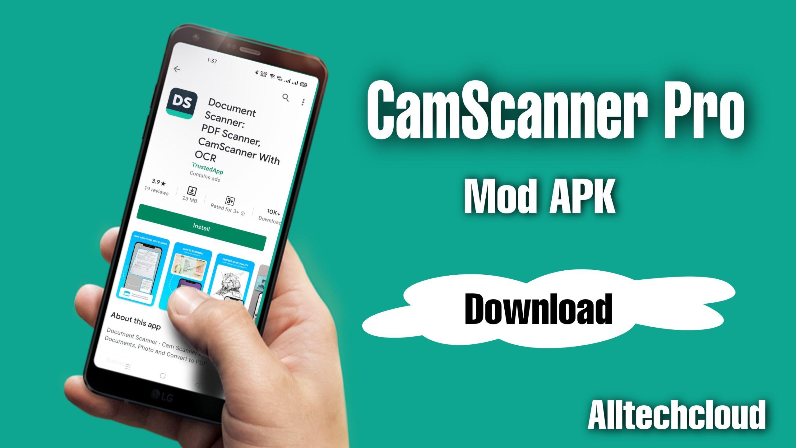 CamScanner Pro MOD APK v5.48.0 Download (Premium Unlocked)